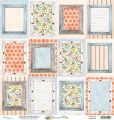 papier scrapbook Mintay Papers - bloomville 06