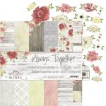 "papier scrapbook Craft o'clock - always together [zestaw 6"" x 6""]"
