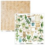 papier scrapbook Mintay Papers - urban jungle - arkusz z elementami
