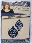 wykrojnik Tattered Lace - greeting baubles [D114]
