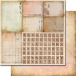 papier scrapbook 7 Dots Studio - thoughts keeper: no 6