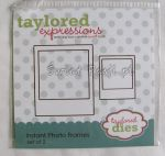 wykrojnik Taylored expressions - instant photo frames