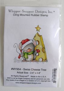stempel gumowy WSD - Swiss cheese tree [MY954]