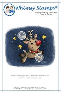 stempel gumowy Drawn with Character Collection - reindeer  magic
