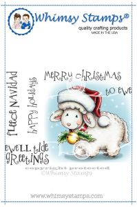 stempel gumowy Crissy Armstrong Collection - fleece navidad