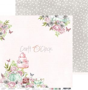 papier scrapbook Craft o'clock - felici'tea' 03