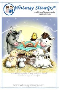 stempel gumowy Crissy Armstrong Collection - nativity critters