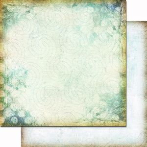 papier scrapbook 7 Dots Studio - 9th wave - sea foam [SDPP0065]