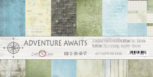 "papier scrapbook Craft o'clock - adventure awaits [zestaw 12"" x 12""]"