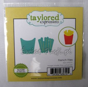 wykrojnik Taylored expressions - french fries