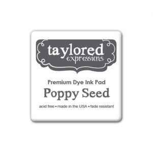 tusz Taylored Expressions - poppy seed (grafitowy)