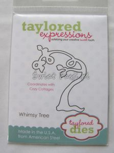wykrojnik Taylored expressions - whimsy tree