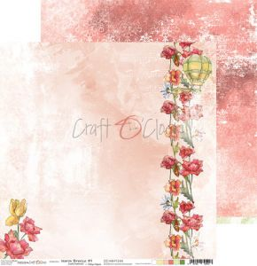 papier scrapbook Craft o'clock -  warm breeze 04