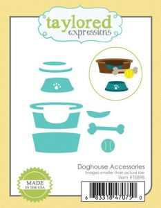 wykrojnik Taylored expressions - doghouse accessories [TE898]