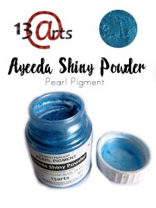 proszek Shiny Powder 13Arts - luster blue
