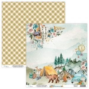 papier scrapbook Mintay Papers - wilderness 01