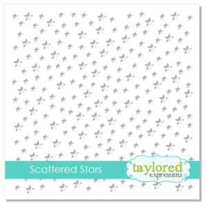 szablon Taylored Expressions - scattered stars