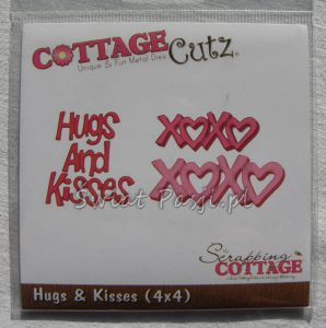 wykrojnik Cottage Cutz - hugs & kisses [156]