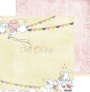 papier scrapbook Craft o'clock - sweet princess 03