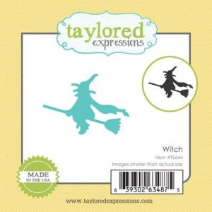 wykrojnik Taylored expressions - witch [TE644]