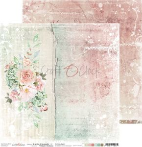 papier scrapbook Craft o'clock -  hello beauty 01