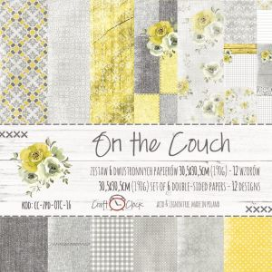 "papier scrapbook Craft o'clock - on the couch [zestaw 12"" x 12""]"