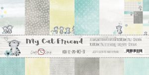 "papier scrapbook Craft o'clock - my cat friend [zestaw 12"" x 12""]"