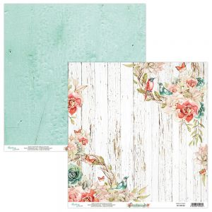 papier scrapbook Mintay Papers - birdsong 03