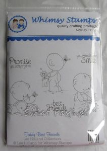 stempel gumowy Lee Holland - teddy best friends