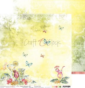 papier scrapbook Craft o'clock -  warm breeze 05