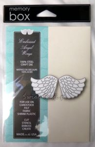 wykrojnik Memory Box - embossed angel wings [99230]