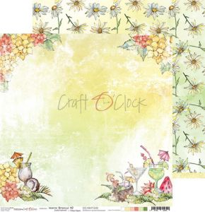 papier scrapbook Craft o'clock -  warm breeze 02