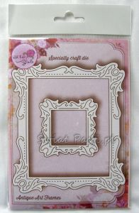 wykrojnik Wild Rose Studio - antique art frames [SD037]