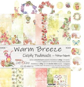 "papier scrapbook Craft o'clock - warm breeze [zestaw 12"" x 12""]"