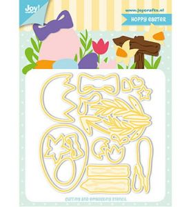 wykrojnik Joy - hoppy easter [6002/1272]