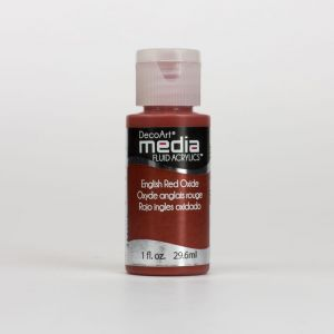 farba fluid acrylics (płynny pigment akrylowy) DecoArts - english red oxide 59 ml [DMFA13]