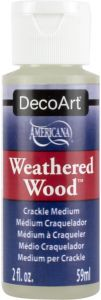 jednoskładnikowy preparat do spękań DecoArt Weathered Wood 59ml [DAS8]