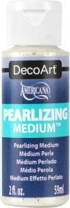 akrylowe medium perłowe DecoArt Pearlizing Medium 59ml