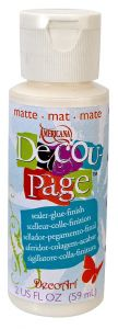 decoupage medium DecoArt Decou-page Matt 59ml
