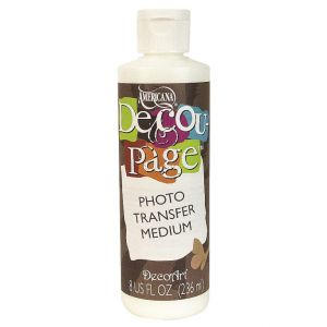 medium do transferuDecoArt Decou-page Photo Transfer 236 ml