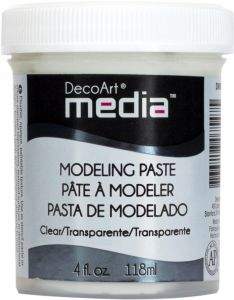 pasta modelująca DecoArt Media Modelling Paste Clear 118 ml