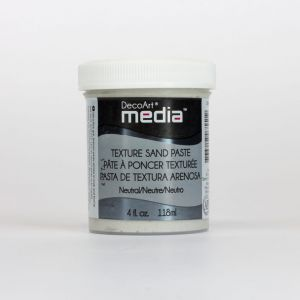 pasta teksturowa DecoArt Media Texture Sand Paste 118 ml