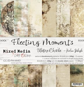 "papier scrapbook Craft o'clock - fleeting moments [zestaw 12"" x 12""]"