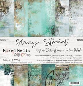 "papier scrapbook Craft o'clock - hazy street [zestaw 12"" x 12""]"