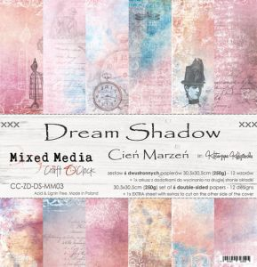 "papier scrapbook Craft o'clock - dream shadow [zestaw 12"" x 12""]"