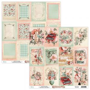 papier scrapbook Mintay Papers - love letters 06