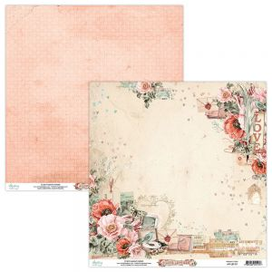 papier scrapbook Mintay Papers - love letters 01