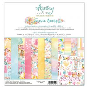 papier scrapbook Mintay Papers - forever young [zestaw]