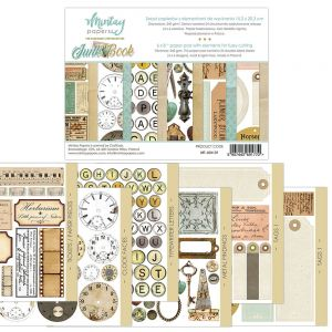 papier scrapbook Mintay Papers - junk book (elementy do wycinania) [bloczek/pad]