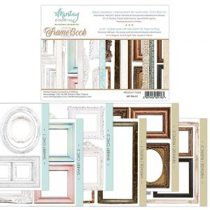 papier scrapbook Mintay Papers - frame book (elementy do wycinania) [bloczek/pad]